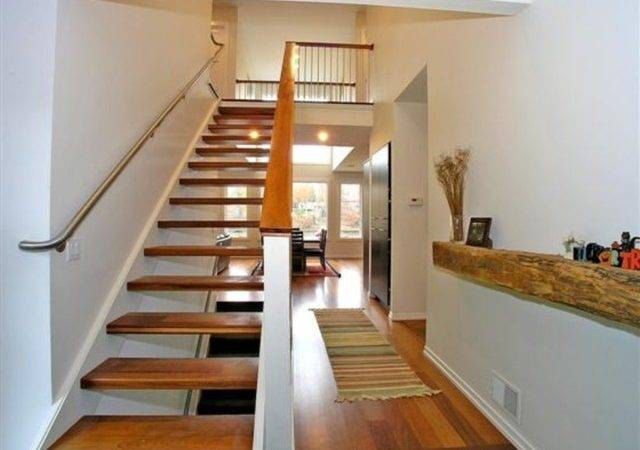 Cottage Contemporary Staircase Grand Rapids Design