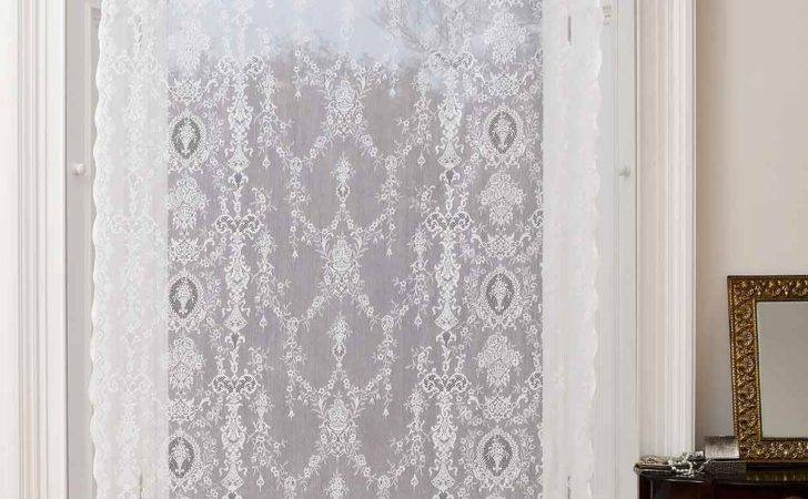 Cotton Lace Curtains Lucynda Olde Worlde