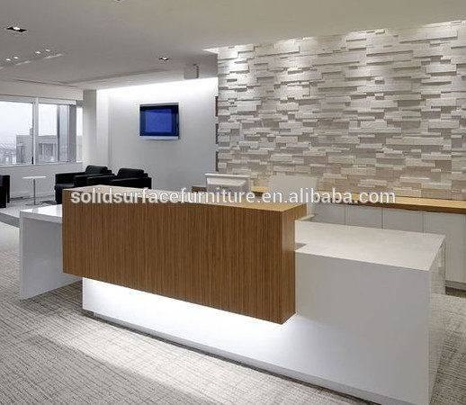 Counter Hotel Reception Design Beauty Salon