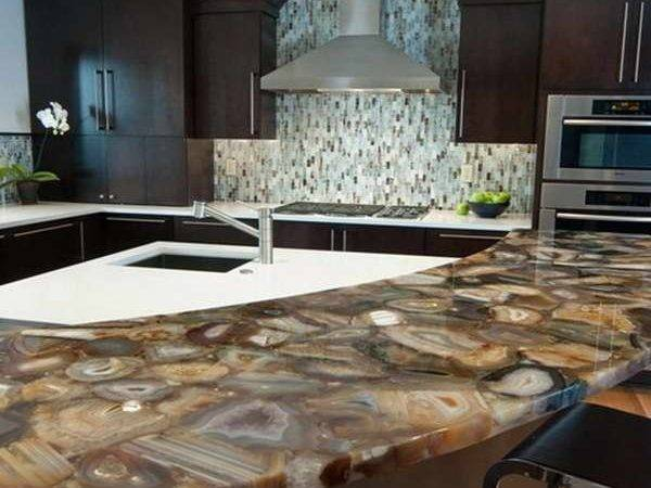 Countertops Backsplashes Island Concetto Agate Countertop