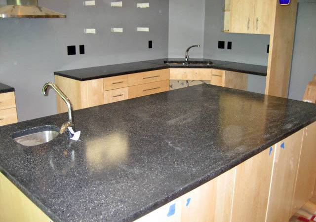 Countertops Modern Kitchen Minneapolis Concrete