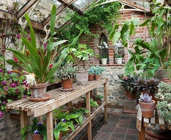 Country Garden Greenhouse Design Ideas