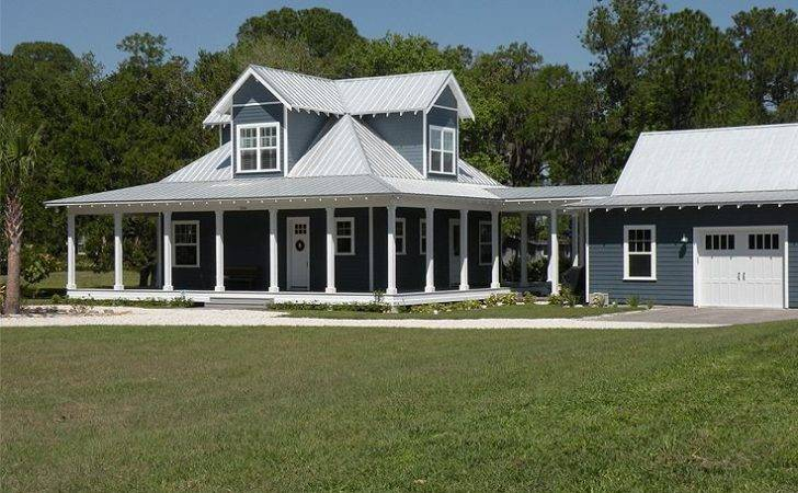 Country Ranch Home Wrap Around Porch Plans