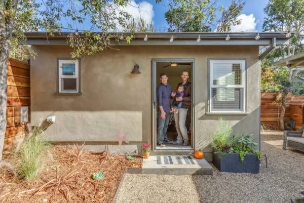 Couples Tiny Guest House New Avenue Homes