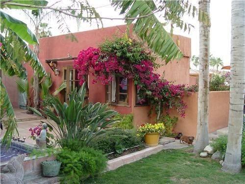 Courtyards Backyard Design Mexicans Patio Gardens Ideas