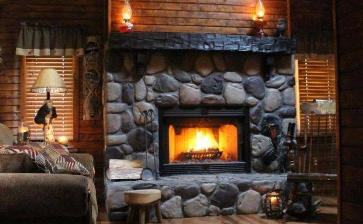Covers Chute Log Cabins Pinterest Fireplaces Deer Cabin