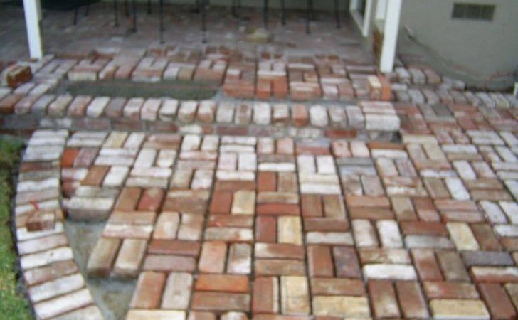 Covina United States Used Brick Basket Weave Pattern