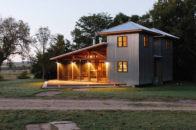 Cowboy Bunkhouse Cozy Secluded Cabin Container House