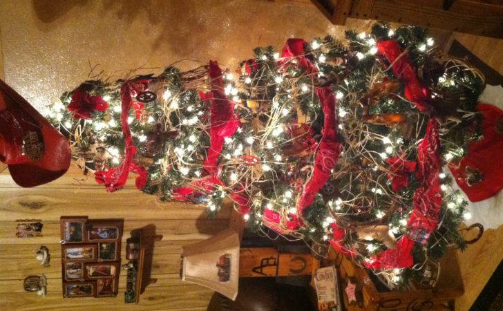 Cowboy Christmas Tree Country Pinterest