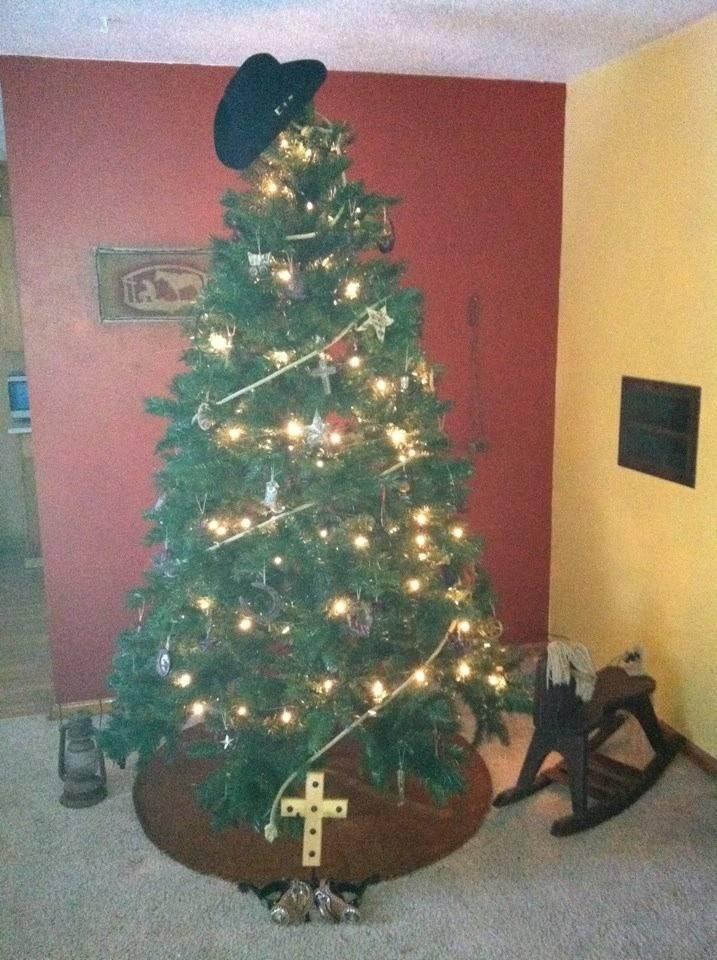 Cowboy Christmas Tree Cowgirly Stuff Pinterest