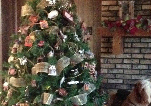 Cowboy Christmas Tree Ideas Via Doylene Corlew