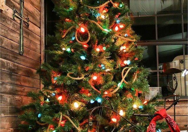 Cowboy Christmas Tree Western Pinterest