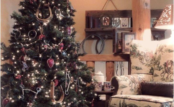 Cowboy West Christmas Tree Your Ranch Western Southwestern