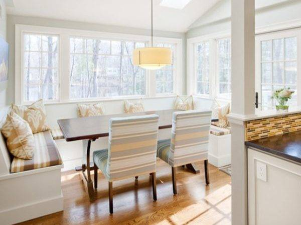 Cozy Comfortable Delightful Breakfast Nooks Kitchen