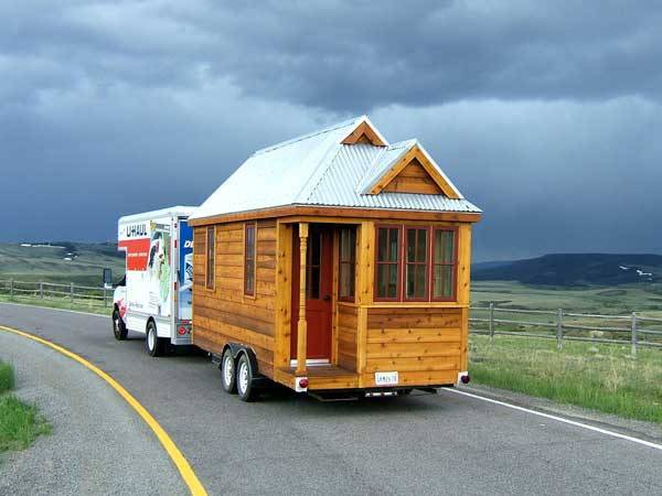 Cozy Tiny House Wheels Home Design Garden