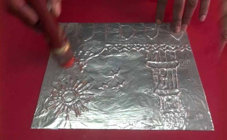 Craft Foil Paper Book Youtube