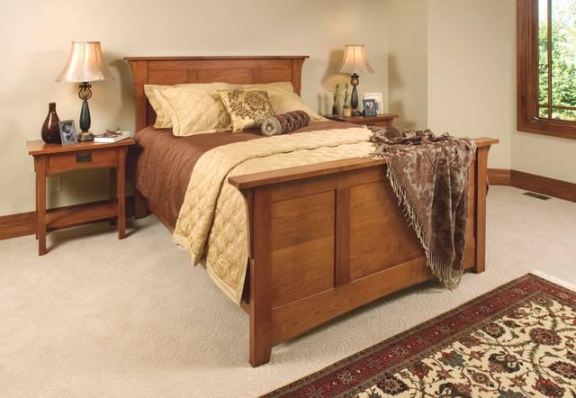 Craftsman Bedroom Furniture Cherry