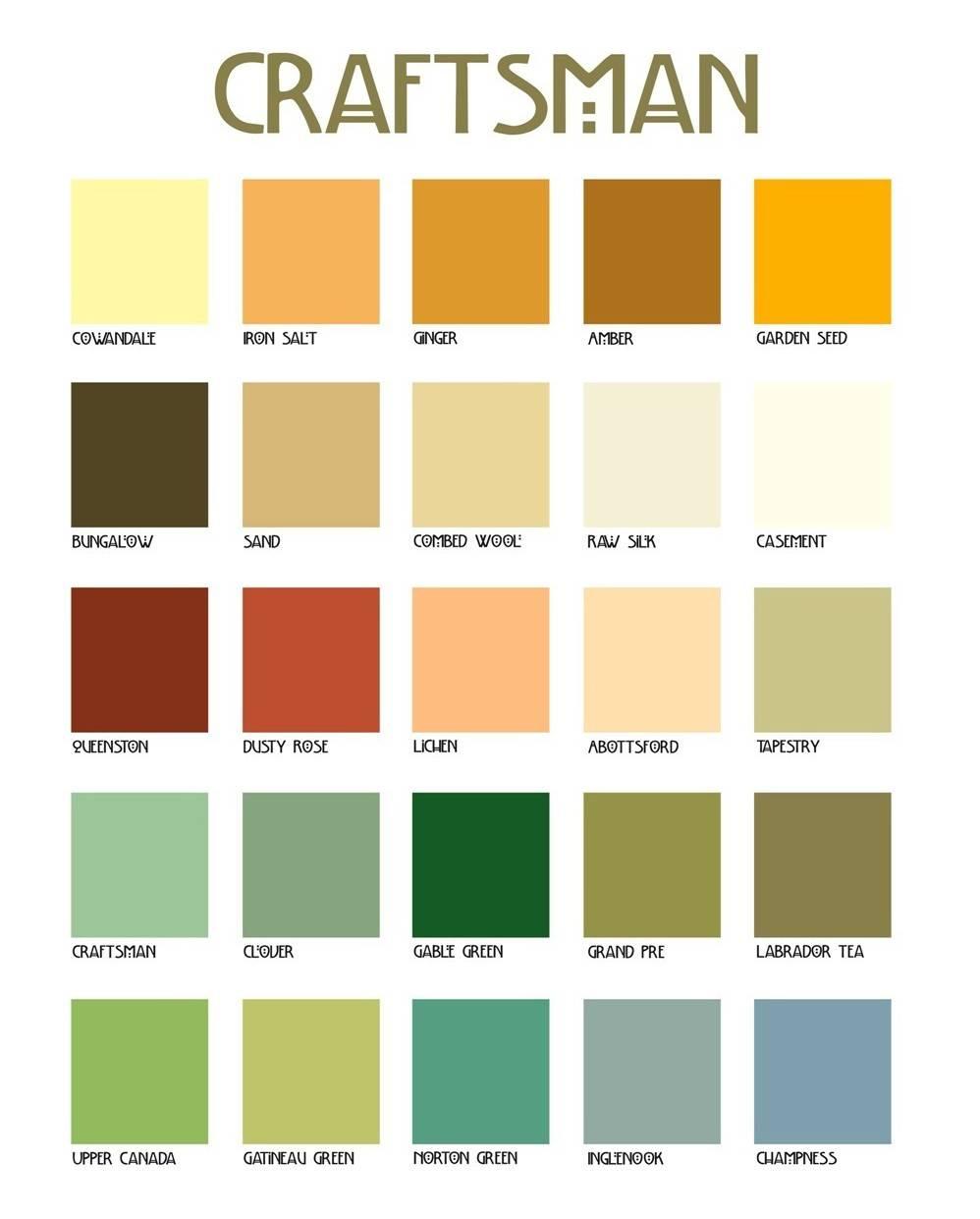 Craftsman Color Schemes Joy Studio Design Best