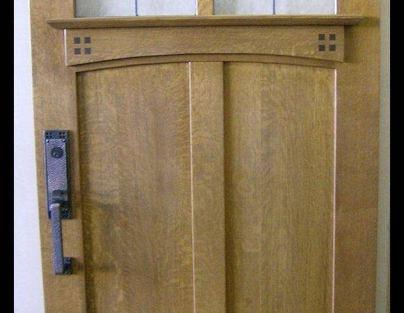 Craftsman Interior Authentic Mission Style Doors