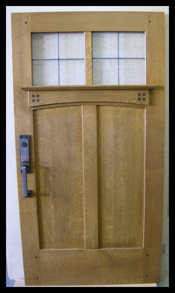 Craftsman Interior Authentic Mission Style Doors