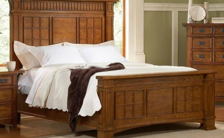Craftsman Platform Bedroom Furniture Set Liberty