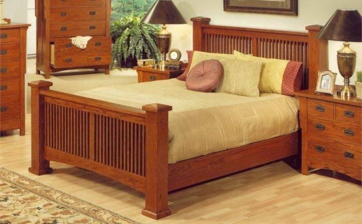 Craftsman Style Bedroom Furniture Mission Oak
