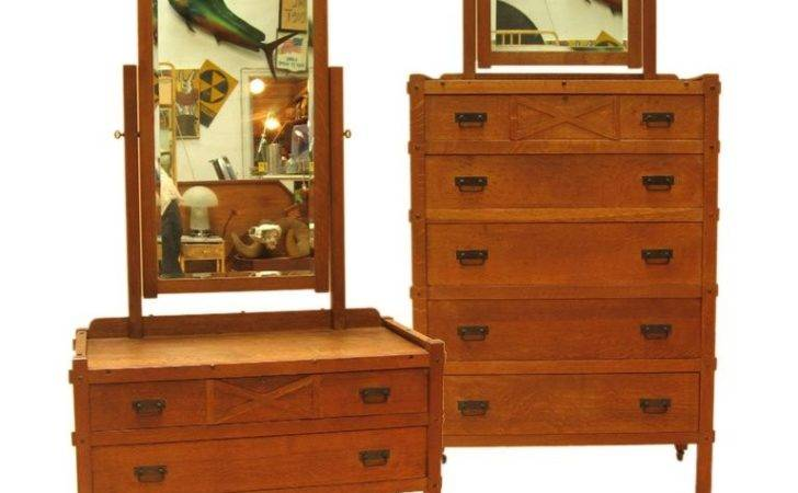 Craftsman Style Bedroom Pieces Compact Furniture Stdibs
