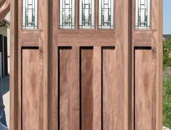 Craftsman Style Front Door Exterior Doors Arts Crafts