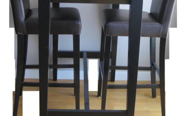 Crate Barrel Lowe Bar Chairs Triad Table Chairish