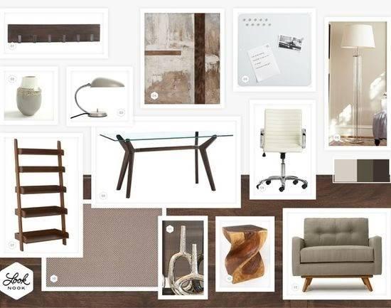 Crazy Office Design Ideas Neutral Modern Eclectic
