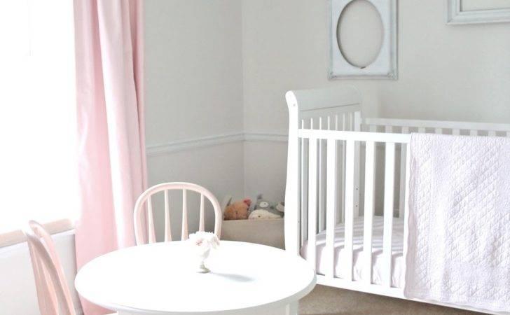 Cream Pink Nursery Girls Project Light