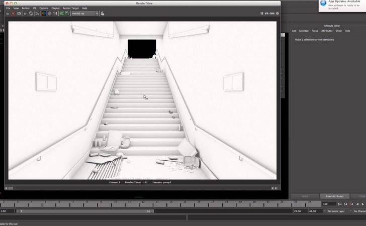 Create Quick Ambient Occlusion Maya Youtube