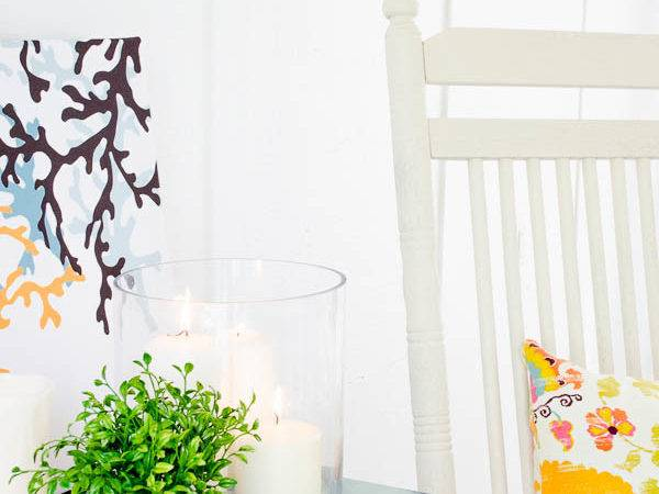Create Summer Ambiance Candles