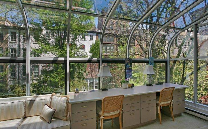 Create Sunny Office Turn Your Sunroom Into Inspiring Workspace
