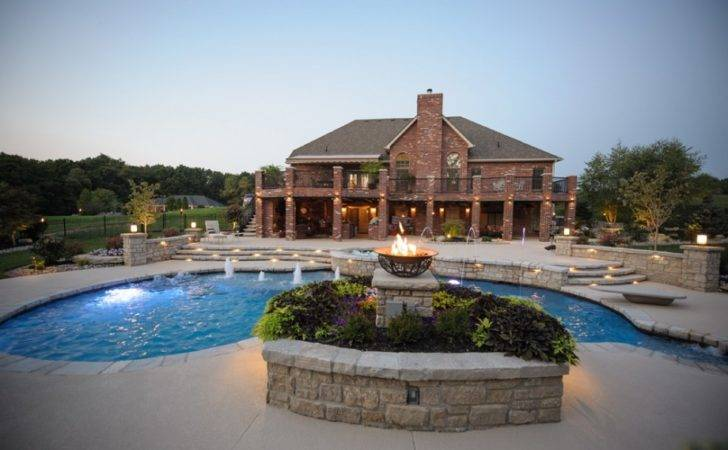 Create Your Own Fancy Swimming Pool Design Outdoor Wonderland
