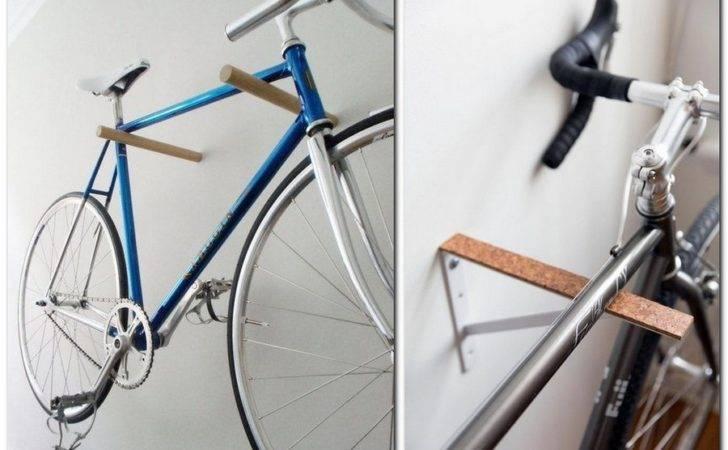 Creative Bike Bicycle Storage Idea Wall Mount Rack Fastener