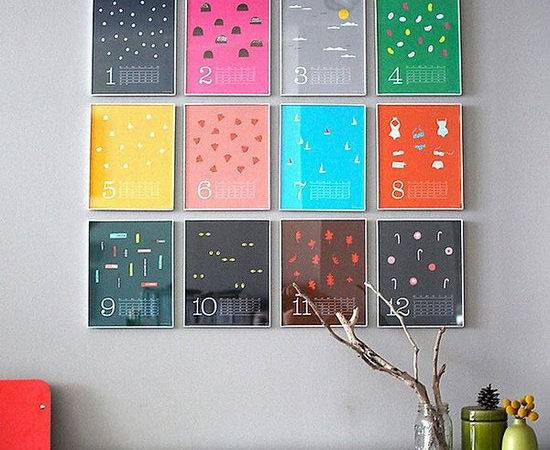 Creative Calendar Design Ideas Instantshift