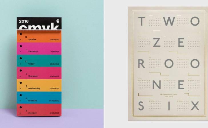 Creative Calendar Ideas Cool Hunting