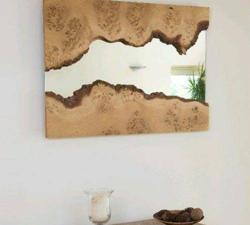 Creative Combines Decorative Wooden Mirrors Frame Furniture Home