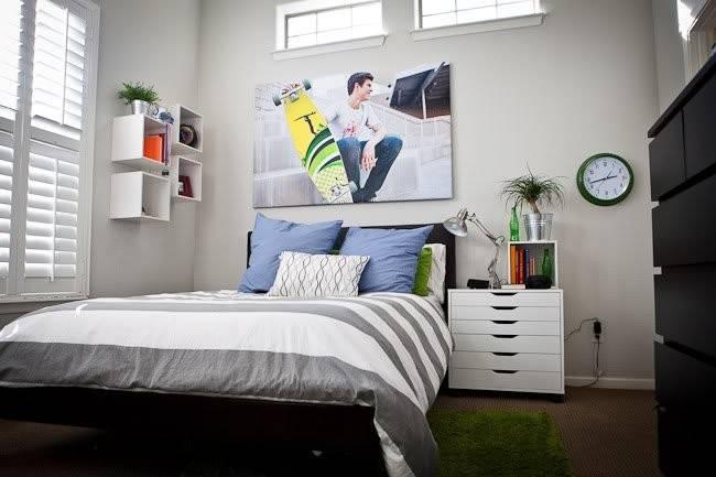 Creative Cool Teen Boy Bedroom Ideas
