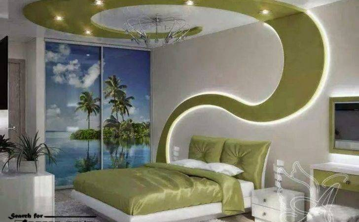 Creative False Ceiling Design Drywall Integrated Lighting