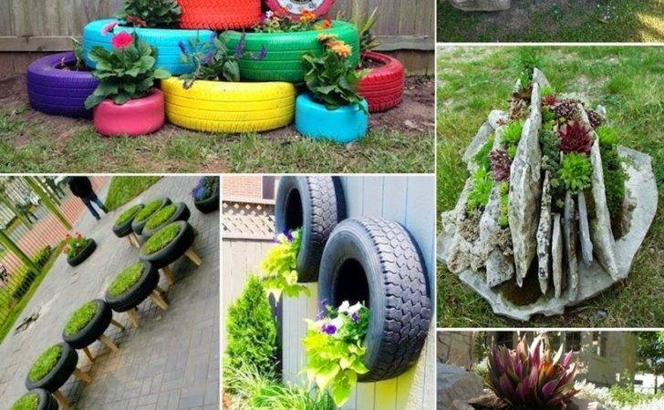 Creative Garden Container Ideas Diy Craft Projects