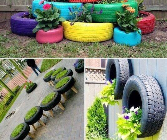 Creative Garden Container Ideas