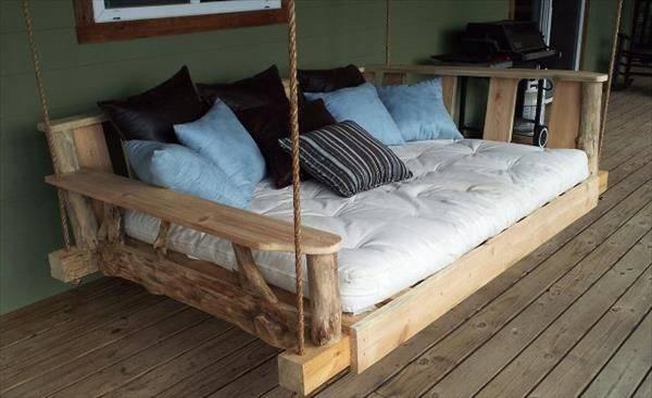 Creative Ideas Diy Pallet Swing Beds Pallets Designs