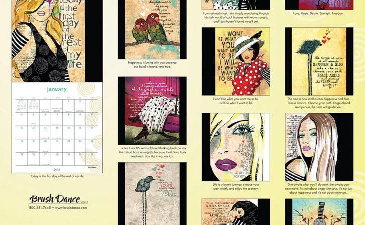 Creative Ink Wall Calendar Calendars