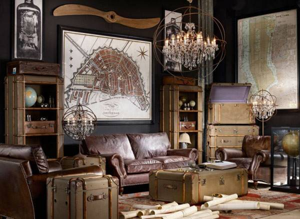 Creative Inspiring Eclectic Vintage Room Designs Timothy Oulton