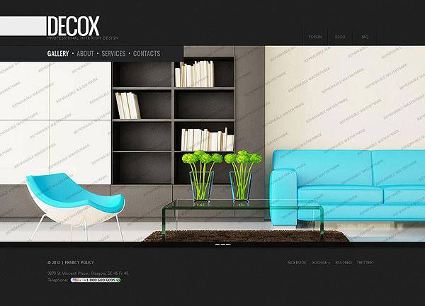 Creative Interior Design Architecture Website Kerala