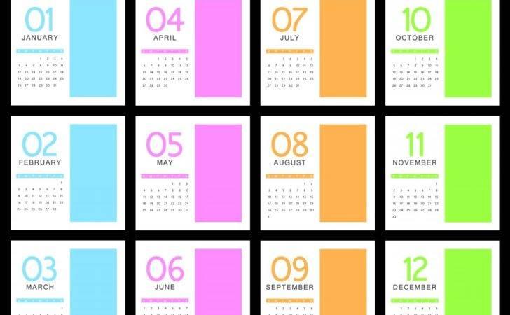 Creative Monthly Calendar Files Elsoar