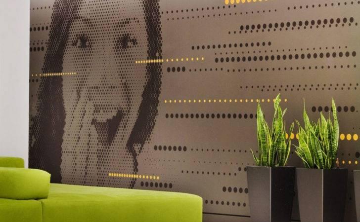 Creative Office Wall Art Design Astral Media Interior