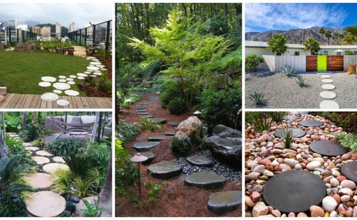Creative Round Stepping Stone Designs Your Beautiful Garden